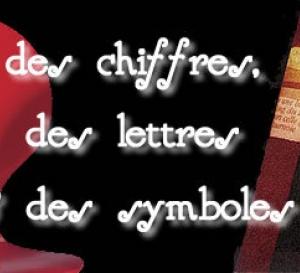 côté décoration, jouez avec les chiffres, les lettres et les symboles