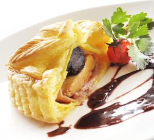 Recette de chef : tourtière de foie gras à la truffe de Xavier Menot