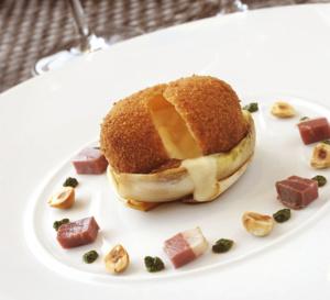 Recette du chef Jean-François Dive : crousti-coulants au fromage de rocamadour