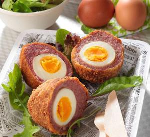 Recette des 'scottish-eggs', les fameux oeufs écossais