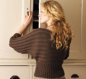 Pull chauve-souris à tricoter, explications gratuites à télécharger