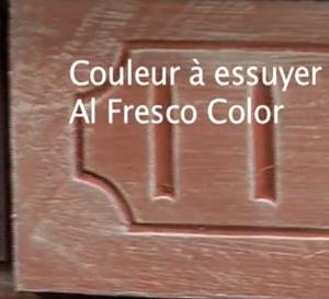 décoration : couleur à essuyer - technique d'application en vidéo