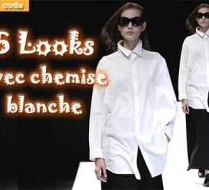 dress code : 5 looks tendance en chemise blanche