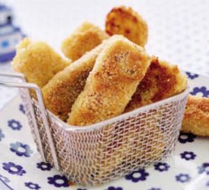 Croquettes de purée de pommes de terre et d'endives