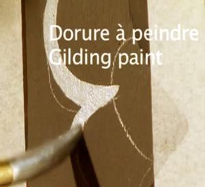 Comment réaliser un décor et des motifs à dorure à peindre ?