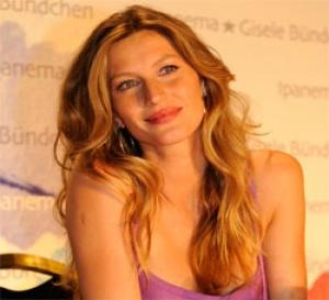 Gisèle Bündchen signe une nouvelle collection Ipanema
