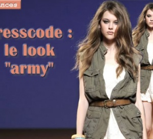 dress code : comment porter le kaki et le look army ?