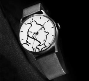 Tintin et la course du temps, maintenant en montre à votre poignet