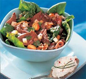 recette : salade de paleron de boeuf