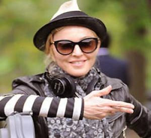 Madonna sur le tournage de son film W.E.