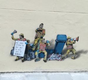 À Ostende, station balnéaire belge, des artistes investissent les murs de la ville