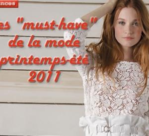 les 7 tendances clés de la mode printemps-été 2011
