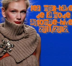 les 7 tendances clés de la mode hiver 2012