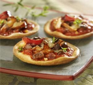 recette : Pizza au magret de canard