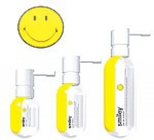 sourire en spray! avec Smiley