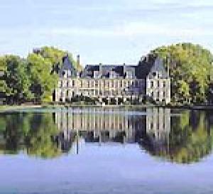 le château et le parc de Courances