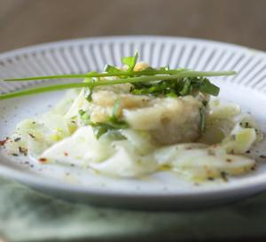 Recette santé : tartare de poisson au lait de coco et citron vert