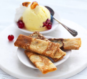 Spécial Chandeleur : crêpes dentelle arôme vanille, sans gluten