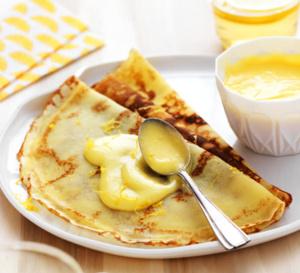 Recette de crêpes sans gluten à la crème au citron