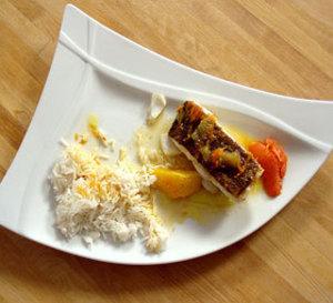 repas divin 3 : cabillaud aux agrumes, riz basmati anisé et autres idées et conseils gastronomiques