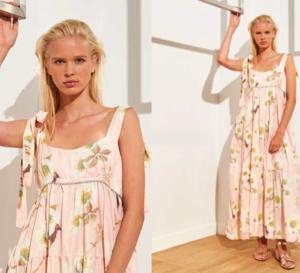 Un look pour l'été : une robe bohème chic à motifs