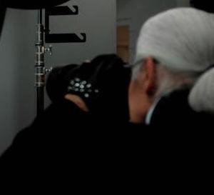 Karl Lagerfeld, l'homme bionique
