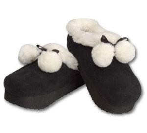 quand porter des chaussons est un exercice de tonicité