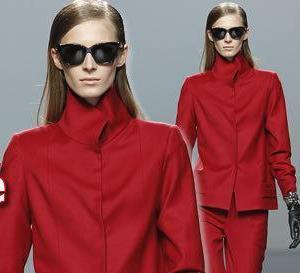 rouge foncé : shopping style pour l'automne-hiver 2012-2013