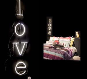 """message d'amour ou message tout court en lettres """"neon art"""" Seletti"""