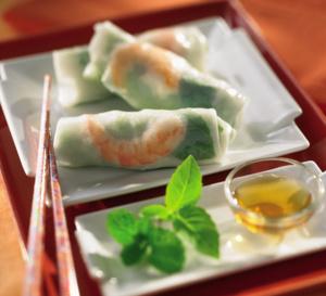 Spécial Chine : recette des rouleaux de printemps - 2 versions