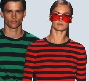le total look rayures est un classique de la mode pour l'été
