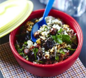 recette pour lunch box de Yannick Alléno : salade 100% vitalité