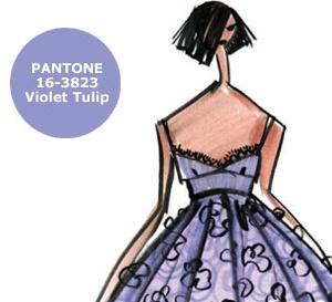 COULEUR d'ÉTÉ : TULIPE  VIOLETTE (Violet Tulip), interprétée par les créateurs