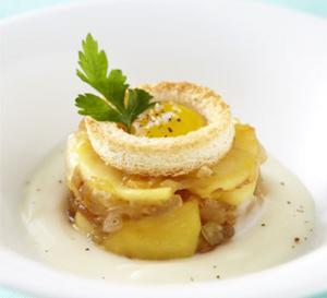 menu gastronomique autour d'un fruit du quotidien : la pomme