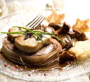 boeuf rossini au foie gras de canard façon Compagnons du Goût