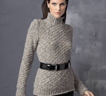 Long pull maille fantaisie XL top tendance - explications gratuites