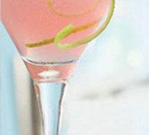 Cocktail Plessis d'Automne au pamplemousse rose