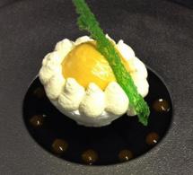 Recette du chef Thomas Mayance : vacherin mangue ananas, mascarpone vanille