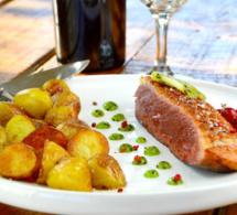 Recette des Landes : magret de canard sauce Armagnac et kiwi de l'Adour