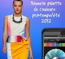 quelles sont les couleurs tendances du printemps été 2012 ?