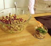 repas divin 1 : salade croquante et autres idées et conseils gastronomiques