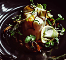 Recette de chef - Cabillaud, sauce champignons, curcuma et gingembre