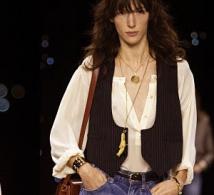 Un look chic et cool pour les beaux jours : le jean taille haute
