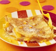 recette express : crêpes aux marrons et à l'orange