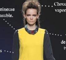 inspiration : robe bicolore Sara Coleman collection pré-fall 2013