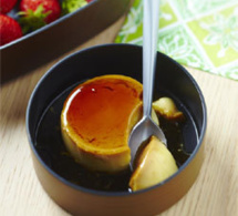 crème renversée inratable de Yannick Alléno : recette pour lunch box