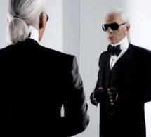 Karl Lagerfeld signe une collection de lunettes velours pour Optic 2000
