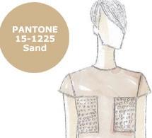 COULEUR d'ÉTÉ : SABLE (Sand), interprétée par les créateurs
