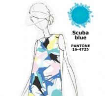 couleur BLEU SCAPHANDRE (Scuba Blue) interprétée par les créateurs