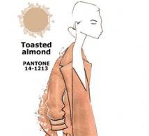couleur AMANDE GRILLÉE (Toasted Almond) interprétée par les créateurs